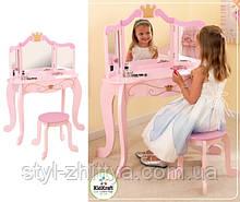 """Туалетний столик """"Принцеса"""" з дзеркалом і стільцем Kidkraft"""