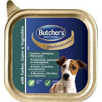 BUTCHER`s консерва  паштет ИНДЕЙКА, ДИЧЬ с овощами 150г.