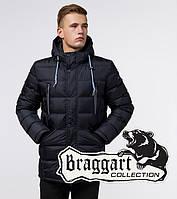 Стильная куртка мужская Braggart Aggressive - 11726 темно-синий, фото 1