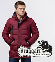 Куртка мужская зимняя Braggart Aggressive - 13542 бордовый, фото 1