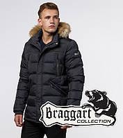 Куртка зимняя с опушкой Braggart Aggressive - 31042 графит, фото 1