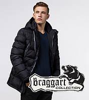 Куртка модная зимняя Braggart Aggressive - 11726 черный, фото 1