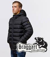 Мужская куртка стильная Braggart Aggressive - 25490 графит, фото 1