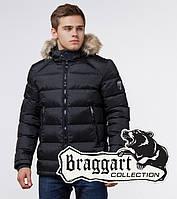 Куртка мужская молодежная Braggart Aggressive - 18540 черный, фото 1