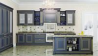 Классическая  кухня с фрезерованными фасадами и патиной INSTYLE