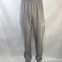 Спортивные штаны Nike под манжет / трикотажные / светло-серые 46-54 р., фото 1