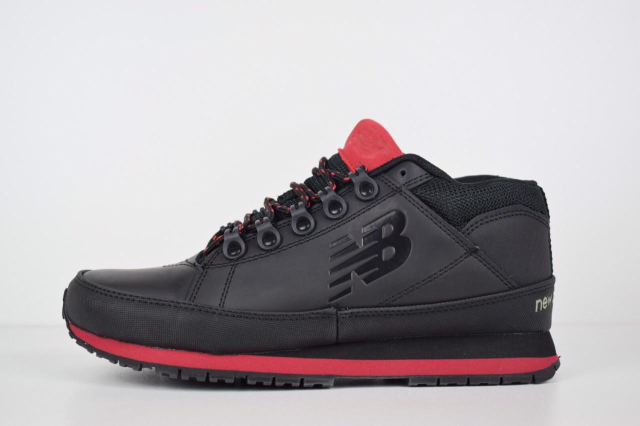Мужские ботинки New Balance 754 черные с красным 1542 - Компания