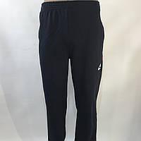 Спортивные штаны в стиле Nike под манжет темно синие 46,48,50,52,54, фото 1