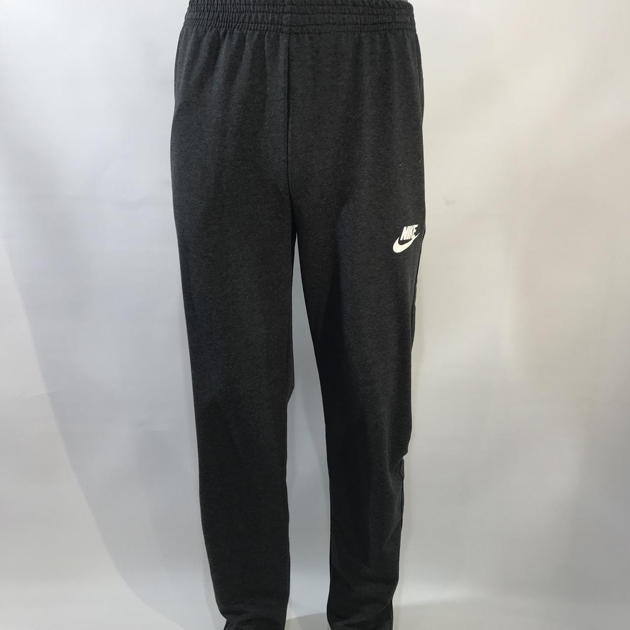 Спортивные штаны в стиле Nike / прямые / серые р, 56