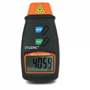 Бесконтактный лазерный тахометр Walcom DT 2234 С+, фото 2
