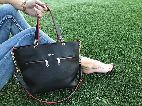Модная классическая сумка, фото 2