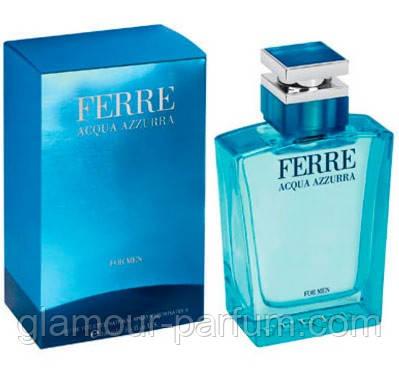 Мужская туалетная вода Ferré Acqua Azzurra for Men (Ферре Аква Азура фо Мен)