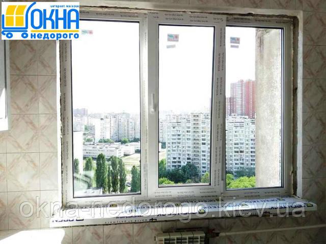 Окна пластиковые Рехау в Киеве