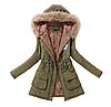 Жіноча куртка-парку.Арт.1113
