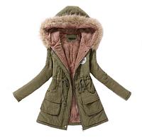 Женская куртка-парка.Арт.1113