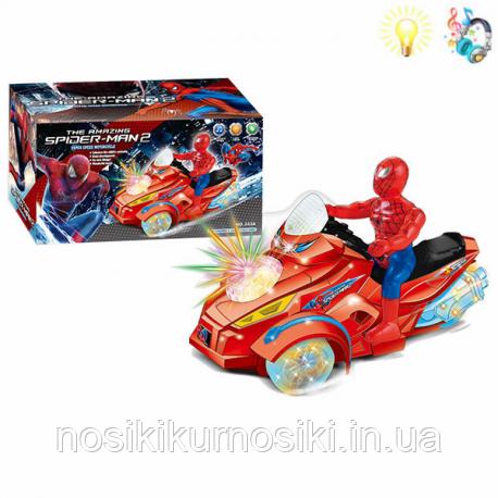 Фигурка супергероя Человек Паук на мотоцикле: продажа ...
