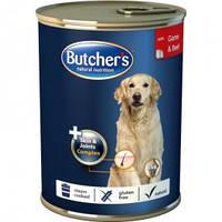 BUTCHER`s PLUS консерв. корм для собак ГОВЯДИНА - ДИЧЬ 1200г.
