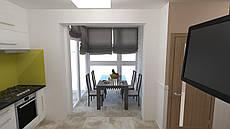 Дизайн-проект интерьера - Кухня-студия SmartV