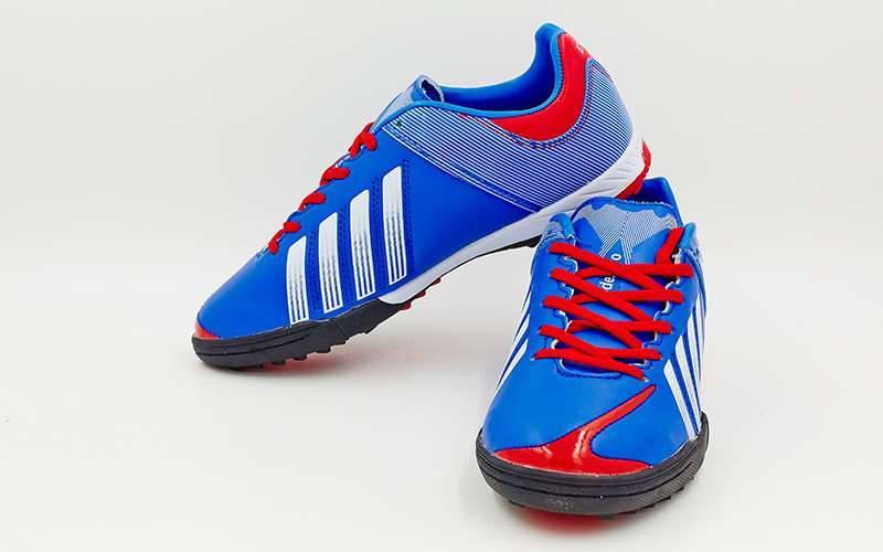 Обувь футбольная сороконожки подростковые 3392 (многошиповки)  размер 32-37 51bf234b669df
