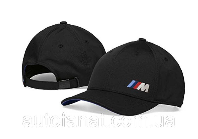 Оригинальная бейсболка BMW M Logo Cap Black (80162454739)