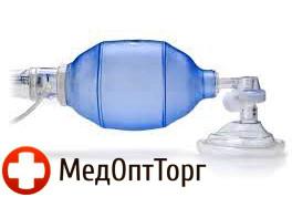 Мешок дыхательный реанимационный типа Амбу (ПВХ) Педиатрический