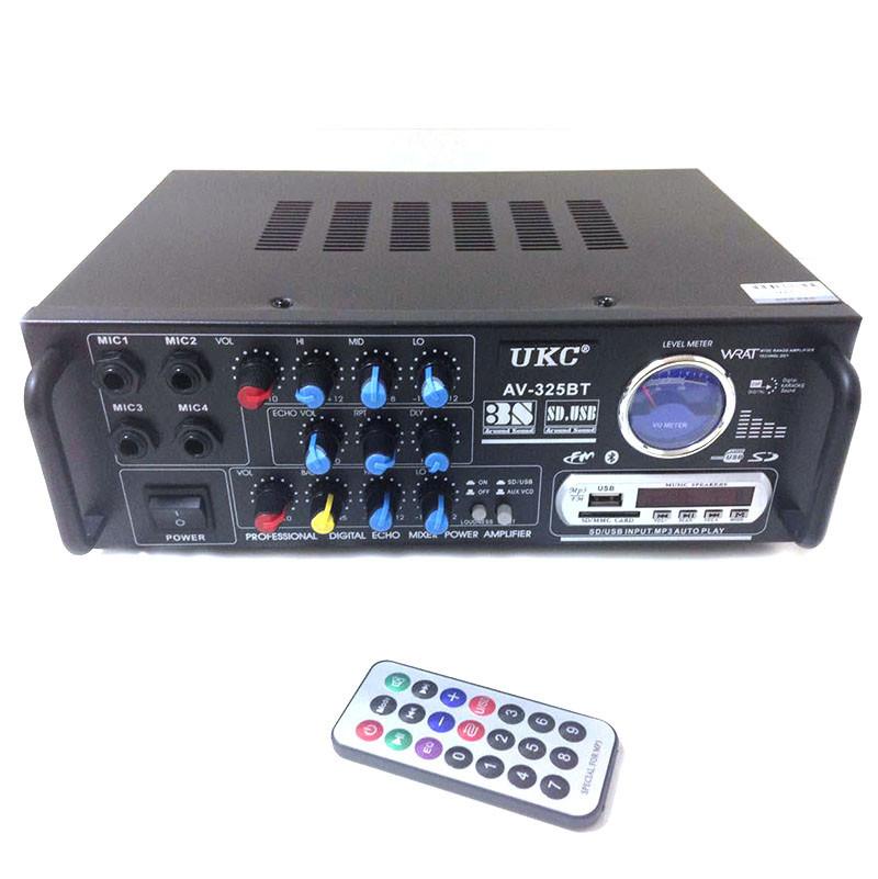 Усилитель звука UKC 325 BT с Bluetooth