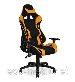 Геймерське поворотне крісло для ігор Viper żółty Signal