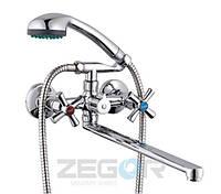 Ванна смеситель DMT7-B722, купить смеситель Zegor для ванной в Одессе