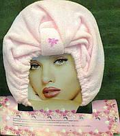 Шапочка-чалма из микрофибры для сушки волос