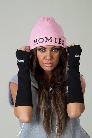 Женская шапка с накатом , фото 2