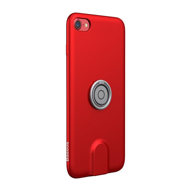 Чехол для Iphone Baseus Magnetic Wireless Charging 3 в 1 для iPhone 7/8 Красный (SUN1705)