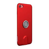 Чехол для Iphone Baseus Magnetic Wireless Charging 3 в 1 для iPhone 7/8 Красный (SUN1705), фото 1