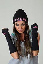 Женская шапка Шанель
