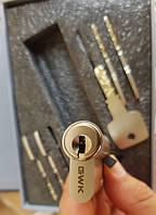 Цилиндр GWK GSM7000 M110 ZCN (55T*55) 5 ключей, с вертушкой