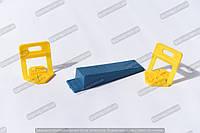Аналог системы выравнивания плитки DLS (2 мм)(основа 100 шт)