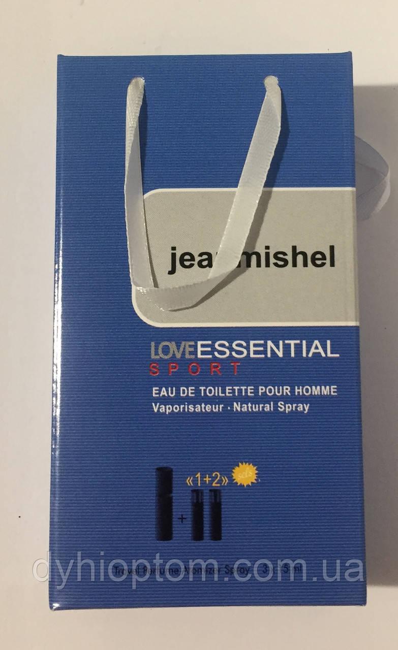 Набір міні духів jeanmishel Lovе Essential Sport Men 3*15ml опт