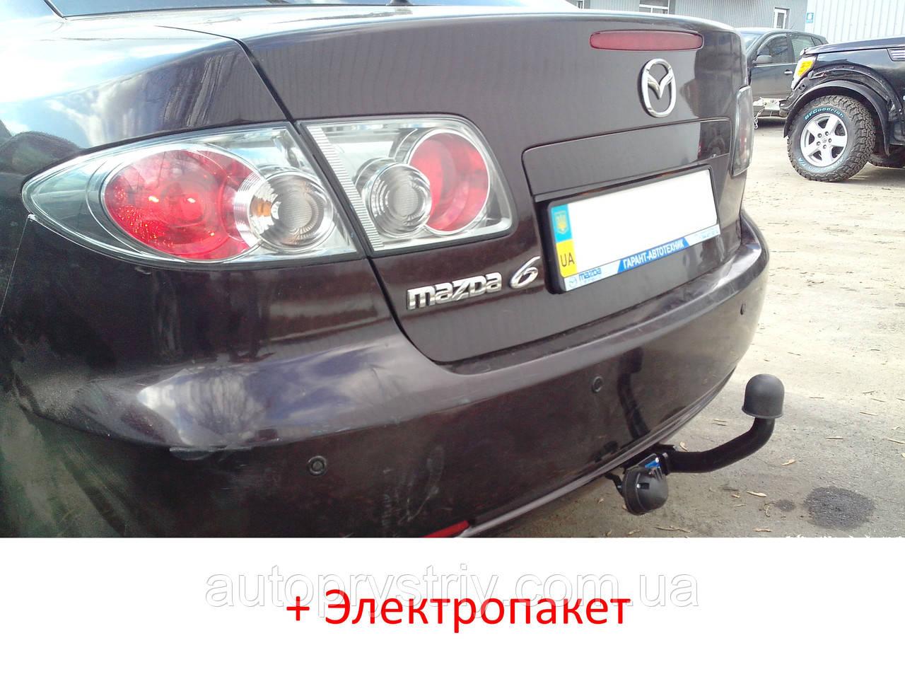 Фаркоп - Mazda 6 Седан / Хэтчбек (2003-2008)