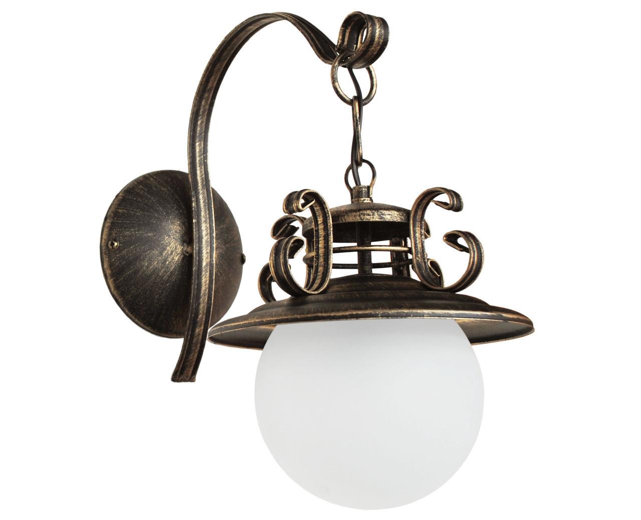 "Бра лофт  ""Сатурн Ретро""старая бронза на на 1 лампу"