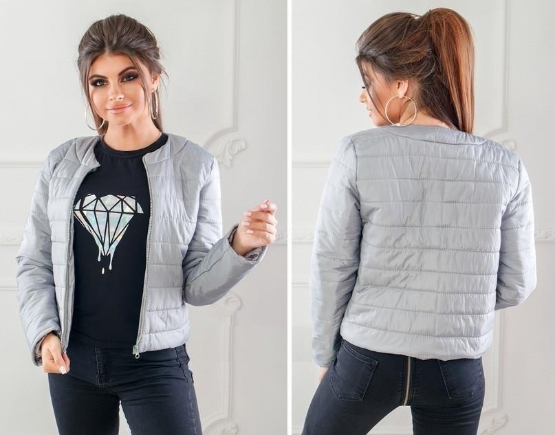 d836249c2a1 Женская куртка весна осень синтепон 150  продажа