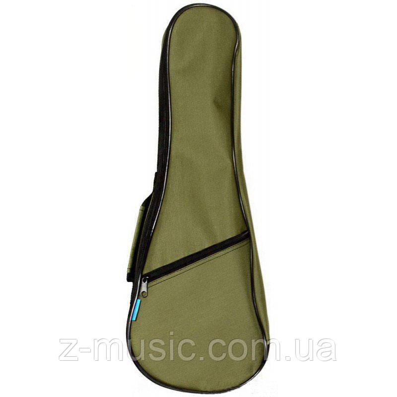 Чехол водонепроницаемый для укулеле сопрано UK21, зеленый