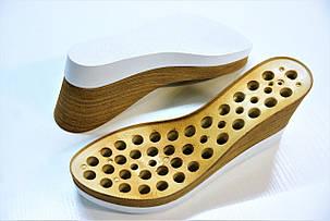 Подошва для обуви женская C-555 бело-бежевый р.36-41, фото 2