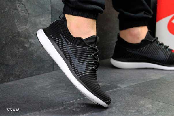 Кроссовки Nike (черно/белые)