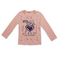 Кофточка для девочки 116-134(6-9 лет)  сердце,2 цвета арт.1700-5