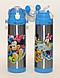 Термос с трубочкой 500 мл детский термос, термос поильник с трубочкой, фото 3