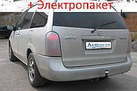 Фаркоп - Mazda MPV Мінівен (1999-2006) 6 місць, європейська зборка, запаска в салоні, фото 1