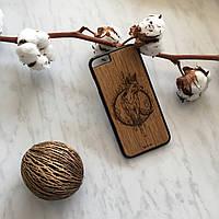 Чехол для Iphone 6/6s 7/7s 8/8s X Wood Fox 3D