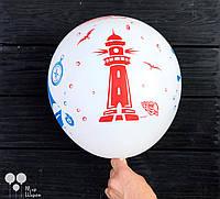 Гелиевые шары с рисунком в тематике морская , фото 1
