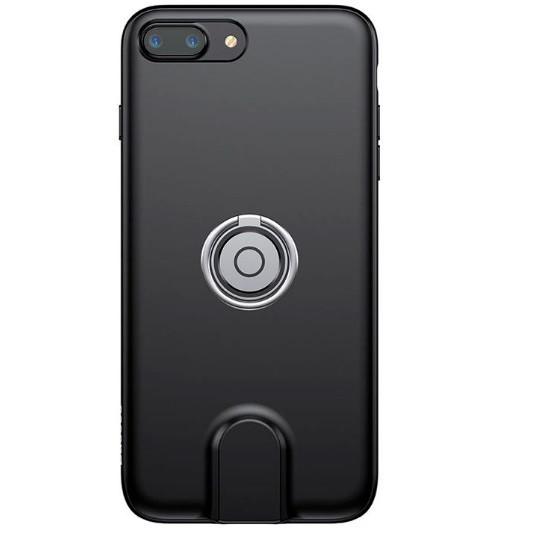 Чехол для Iphone Baseus Magnetic Wireless Charging 3 в 1 для iPhone 7/8 Plus Черный (SUN1708)