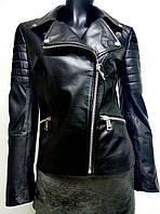 Женская куртка из натуральной кожи Bertini