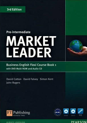 Market Leader (3rd Edition) Pre-Intermediate Flexi 1 Course Book + DVD-ROM, фото 2